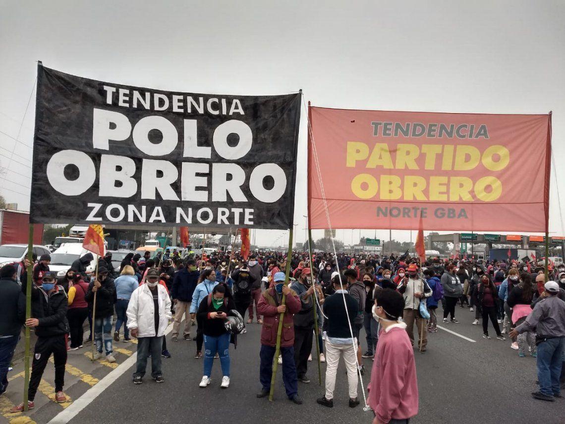 El Partido Obrero corta accesos a la ciudad para pedir la libertad de un militante