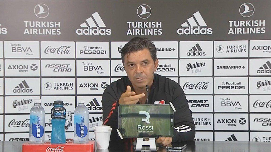 Marcelo Gallardo: No vengo a comunicar mi continuidad.