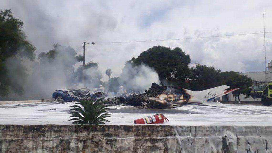 Paraguay: cayó una avioneta.