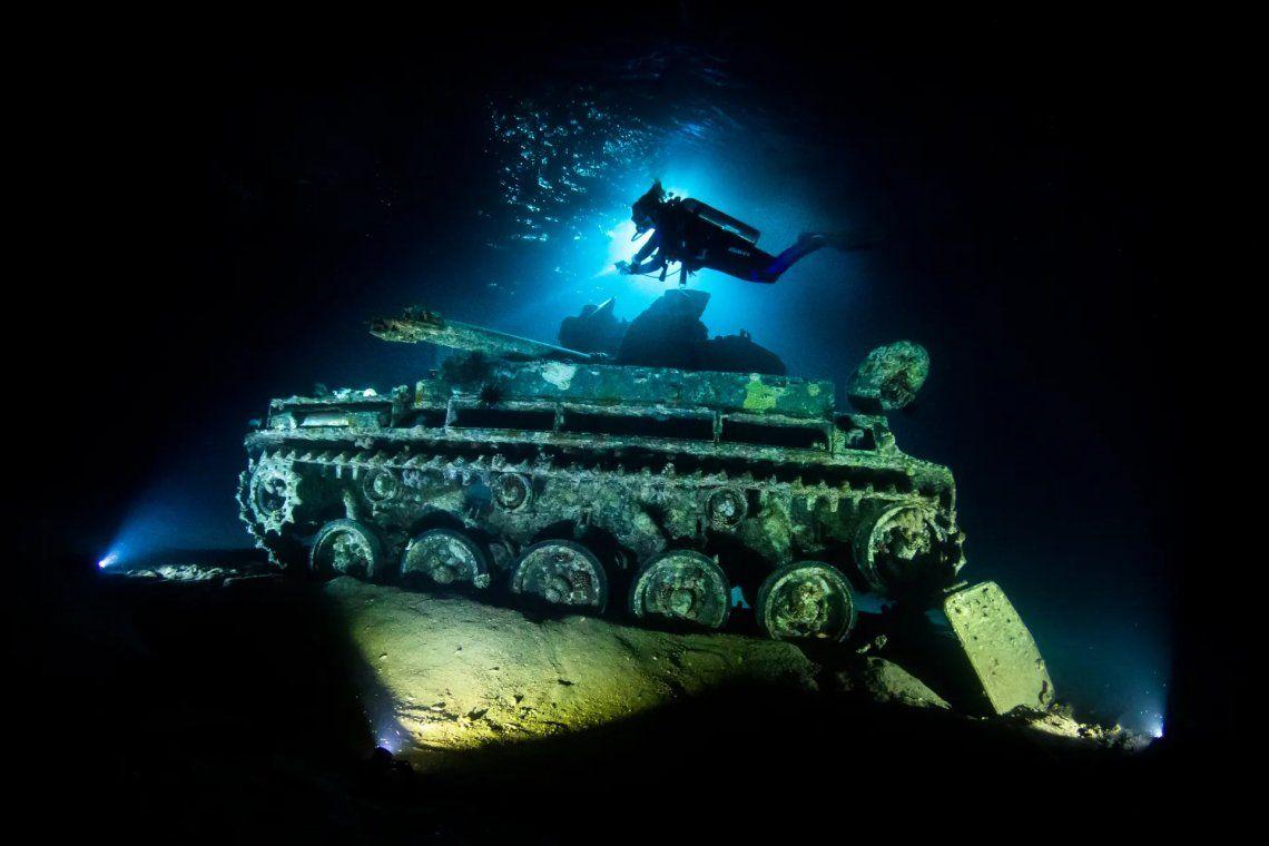 Subcampeón de la categoría de naufragios. Grant Thomas (Reino Unido)
