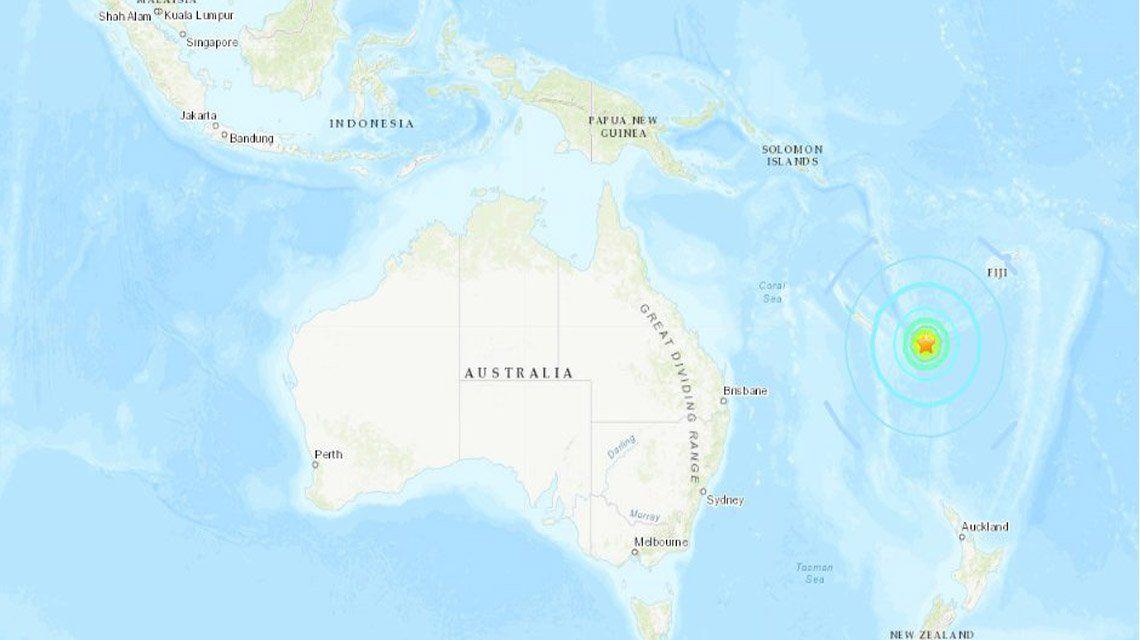 Tsunami en el Pacífico tras un sismo de 7