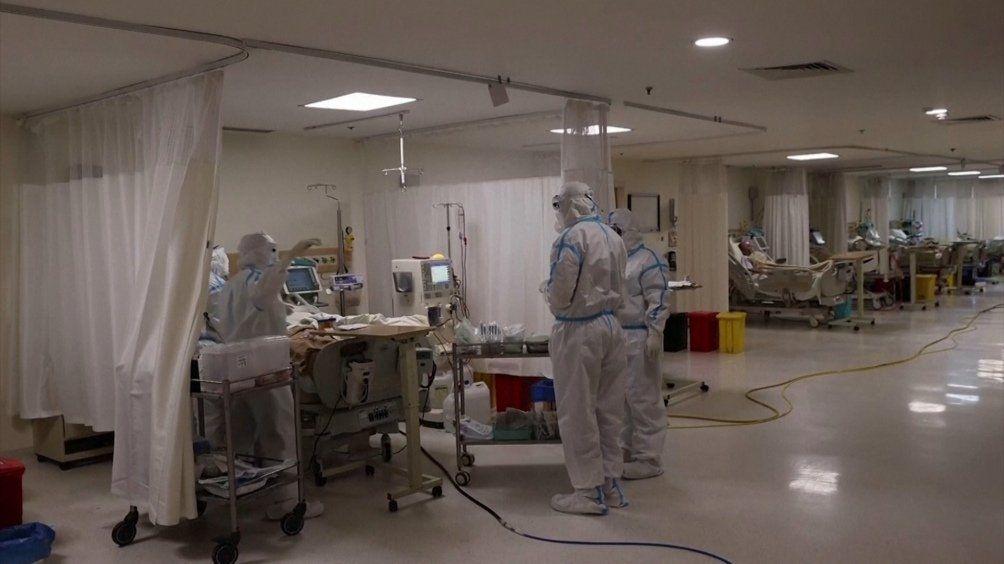 Alivio: descienden los casos de coronavirus