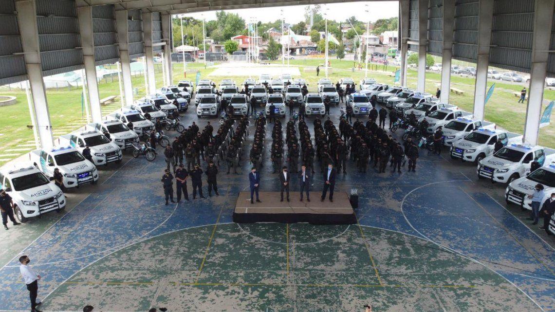 Nuevos móviles policiales para reforzar la seguridad de Florencio Varela