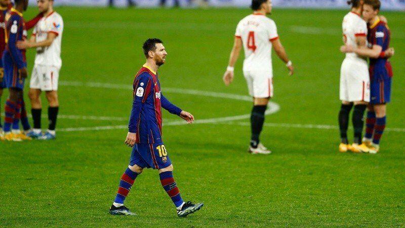 Tropezón para Barcelona en la Copa del Rey.
