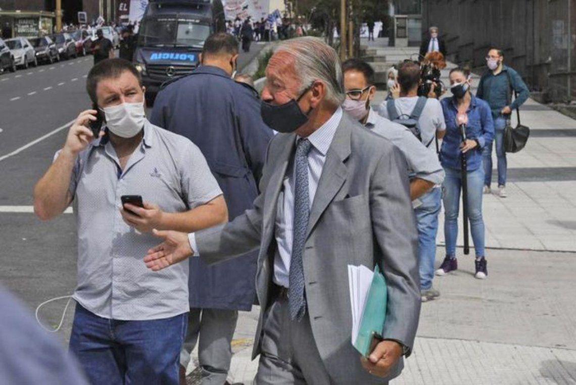 Gobierno: Daniel Funes de Rioja (Copal y Unión Industrial Argentina) arriba a Gobierno para dialogar sobre precios y salarios