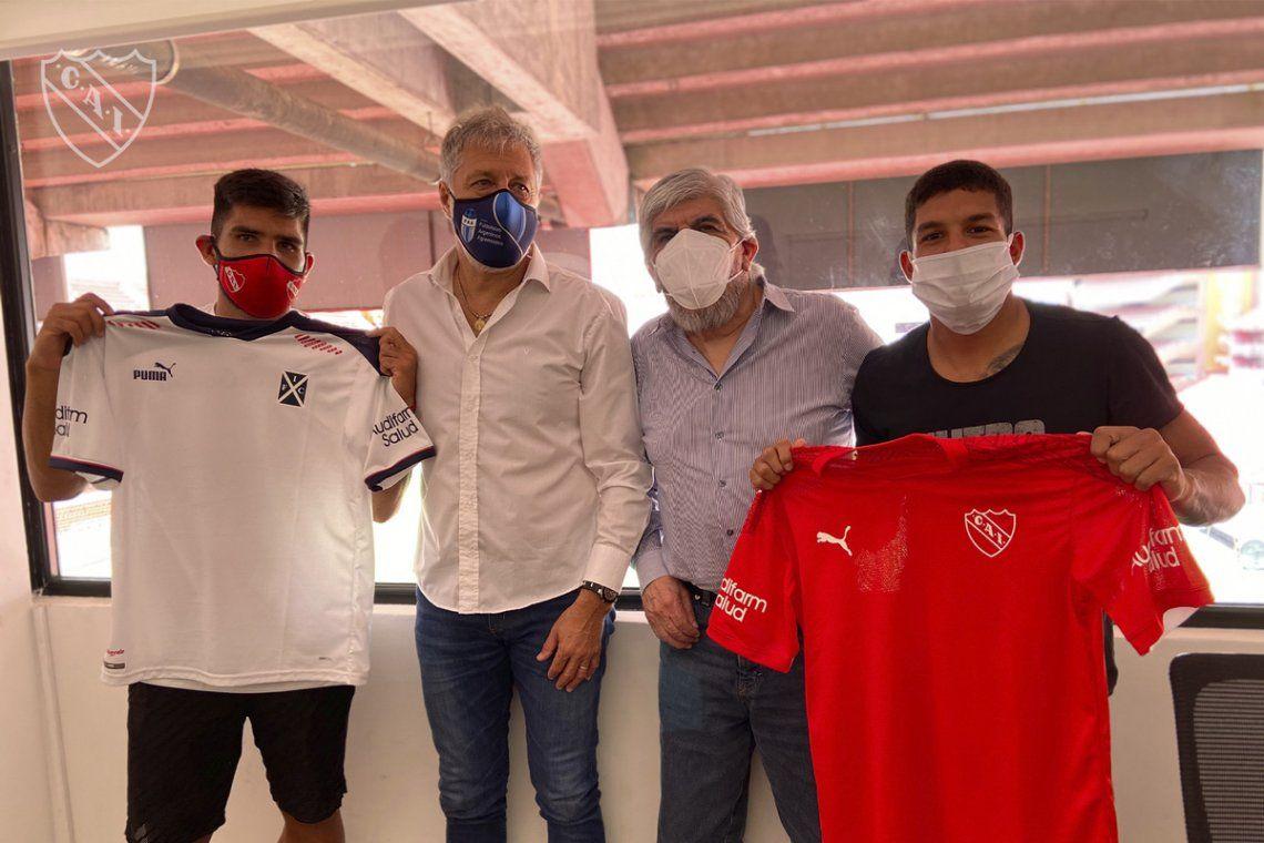 Moyano se reunió con Agremiados en la cancha de Independiente.