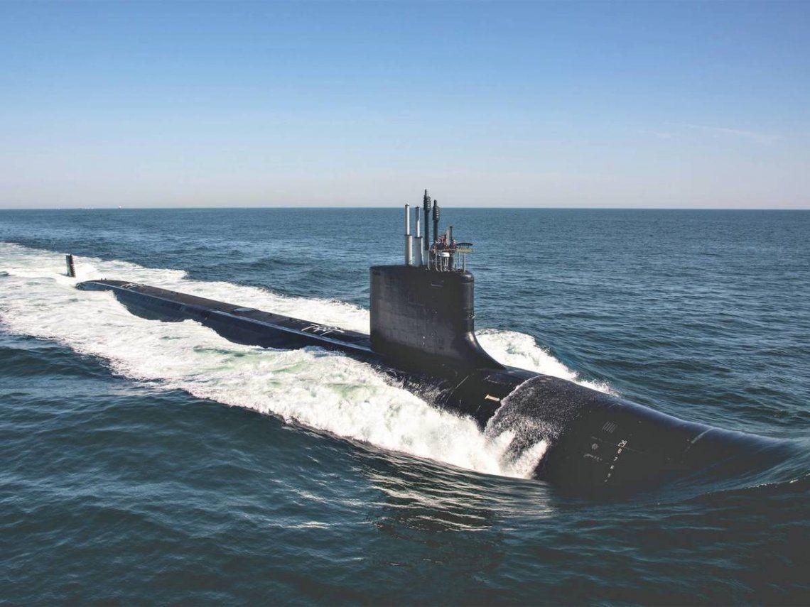 Malvinas: preocupación de Cancillería por presencia de submarino de EE.UU. con apoyo británico.