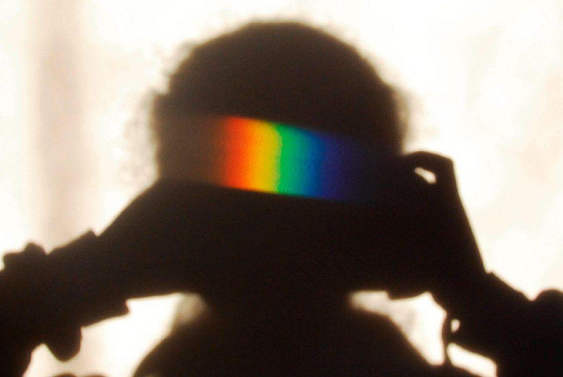 Ganador - Joven fotógrafo científico - Rainbow Shadow Selfie. Katy Appleton / RPS SPotY