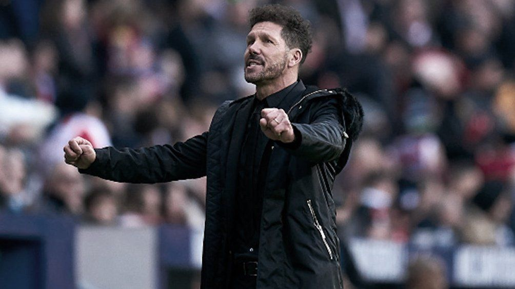 El Cholo Simeone está guiando al Atlético de Madrid a un nuevo título