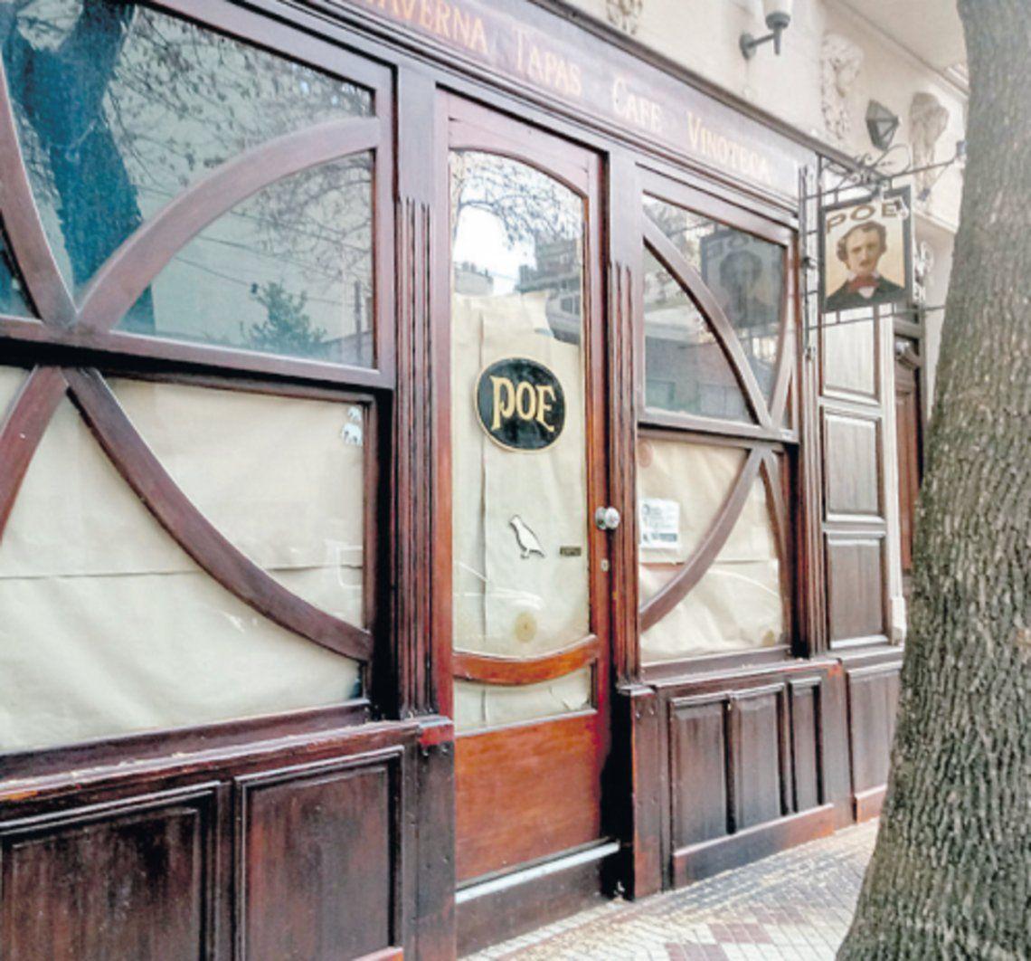 Uno de los restaurantes de Palermo que no pudo continuar trabajando.