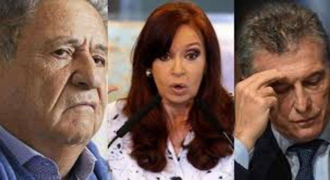 Tres de los ex presidentes con vida que quedan tras la muerte de Carlos Menem.