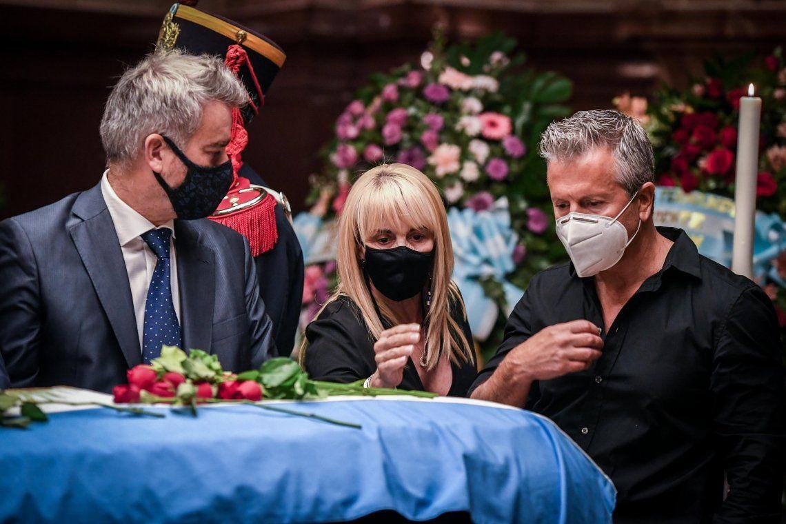 Las fotos del último adiós al expresidente Carlos Menem