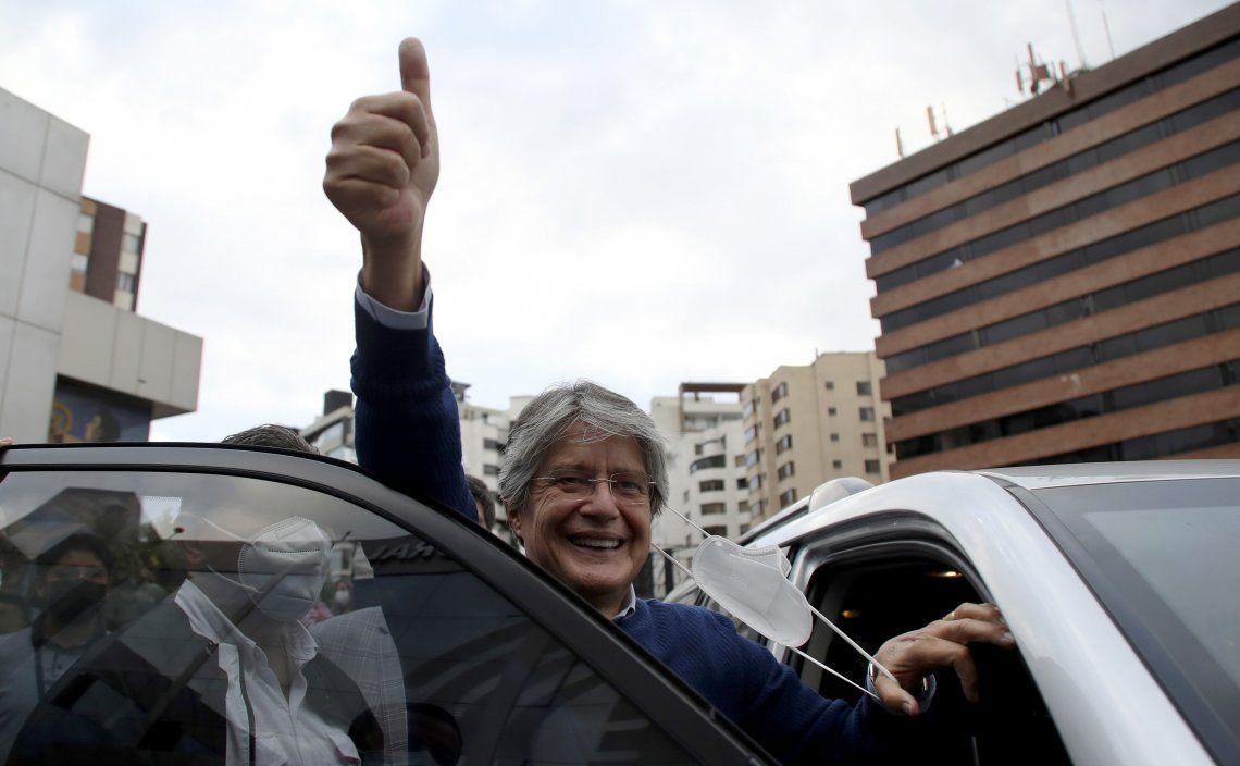 Guillermo Lasso será el nuevo presidente de Ecuador.