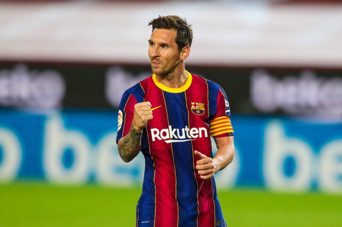 Lionel Messi viene de ser figura en la goleada del Barça ante el Alavés.