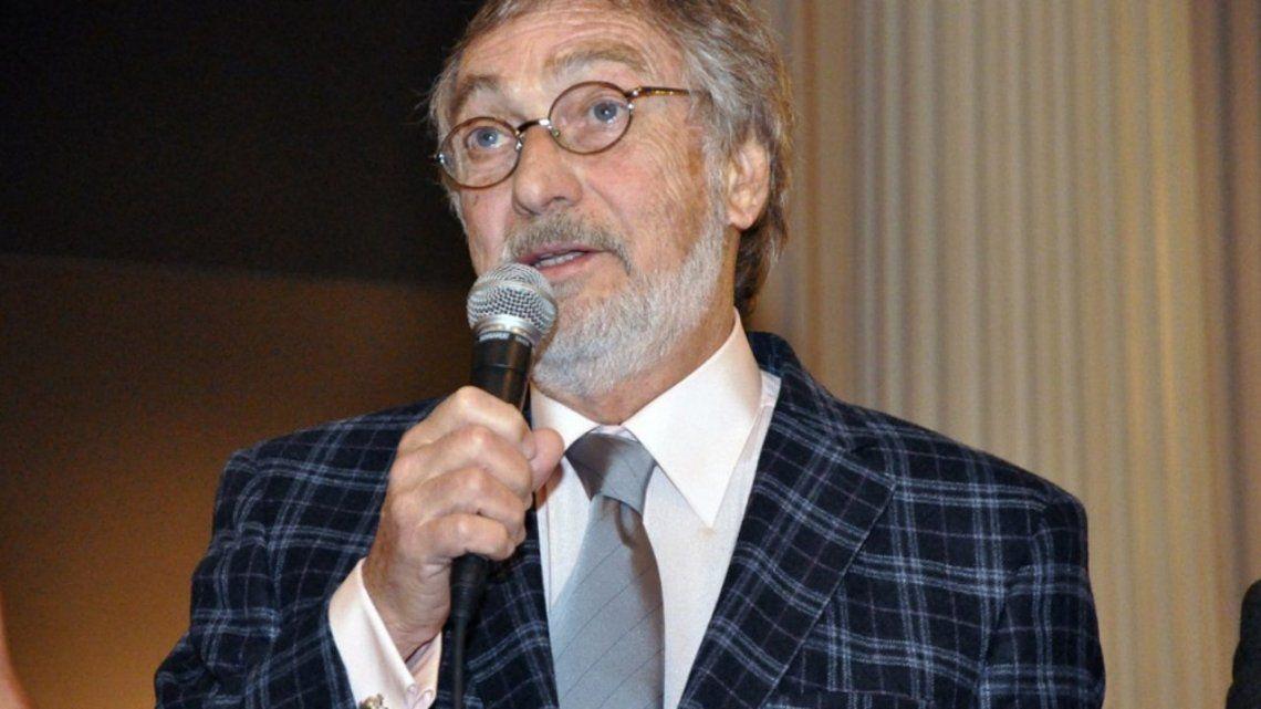 Luis Brandoni dio positivo por coronavirus.