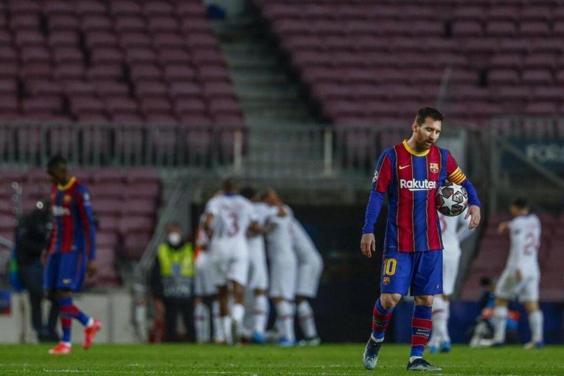 Duras críticas al Barcelona tras la caída ante el PSG