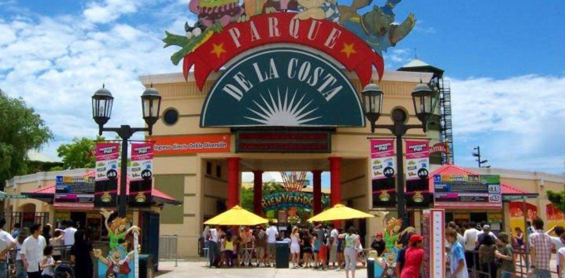 Massa celeró la reapertura del Parque de la Costa