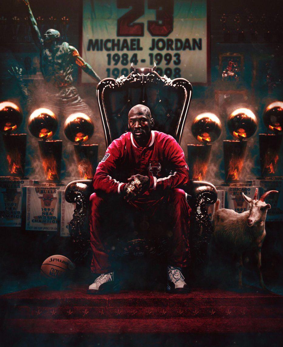 Jordan ganó seis títulos de la NBA