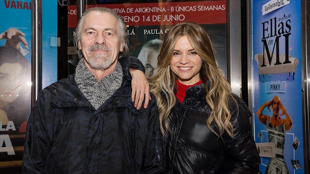 Miguel ángel Sola y Paula Cancio