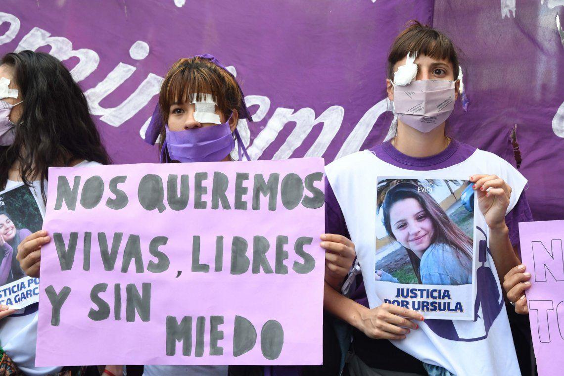 Las fotos de las marchas tras el femicidio de Úrsula Bahillo