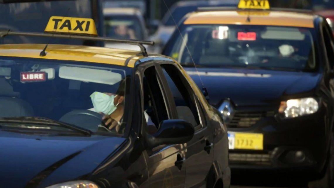Los taxistas cantaron victoria en Rosario