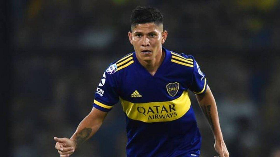 Jorman Campuzano vuelve a la titularidad en Boca