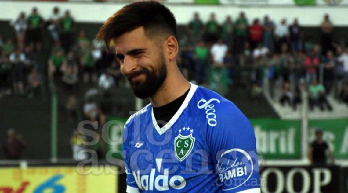 Manuel Vicentini sería titular el domingo en Sarmiento