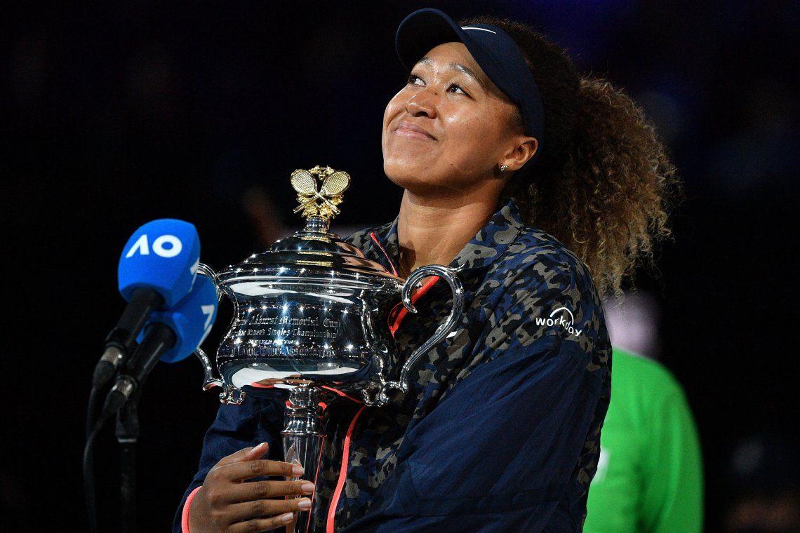La japonesa Naomi Osaka sumó su cuarto título de Grand Slam en singles