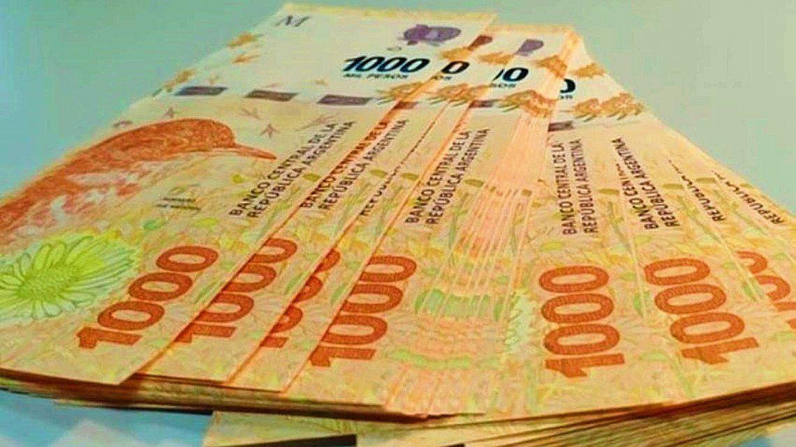 La Policía detuvo a un delincuente con 46 billetes de 1.000 pesos falsificados