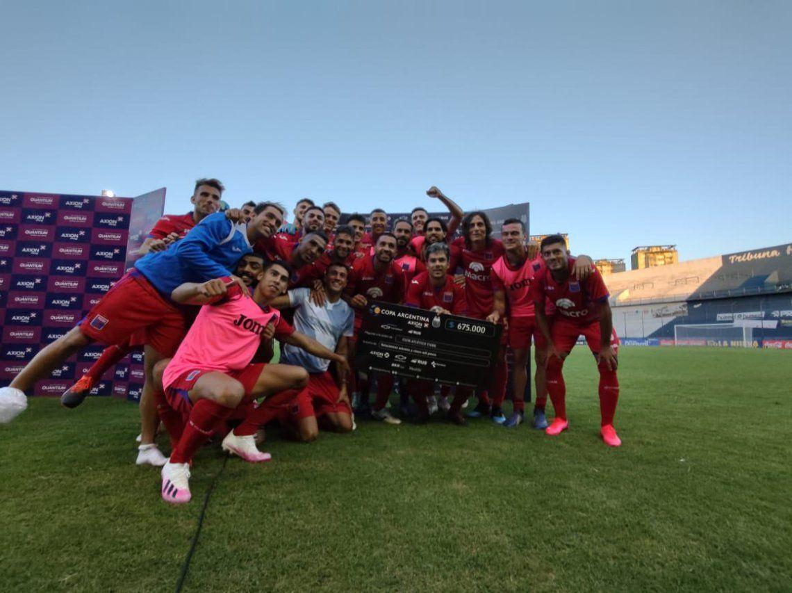Tigre avanza en la Copa Argentina