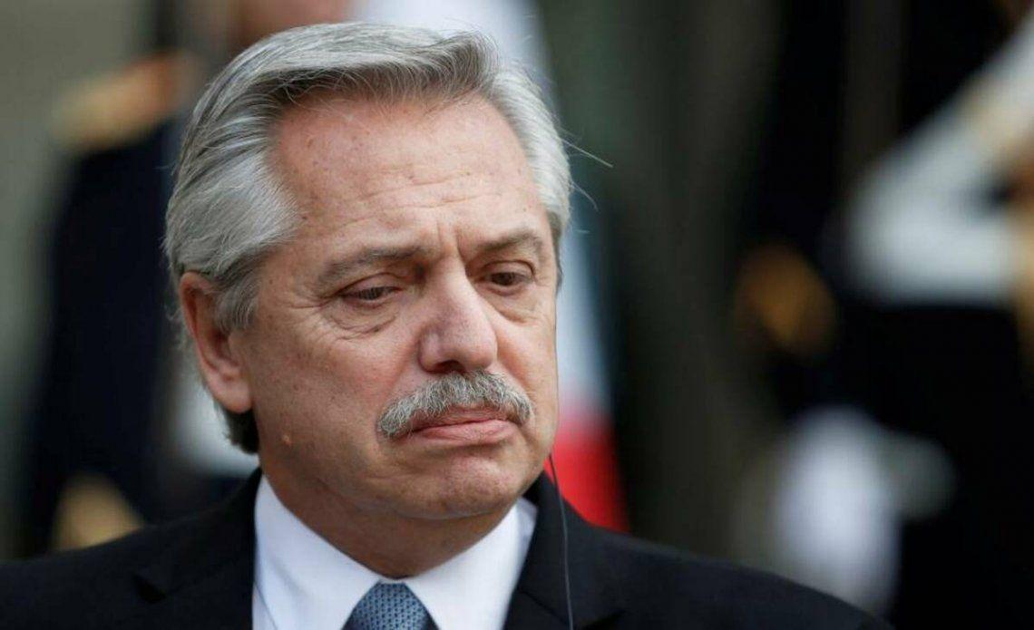 Alberto Fernández consideró imperdonable lo ocurrido en el Ministerio de Salud.