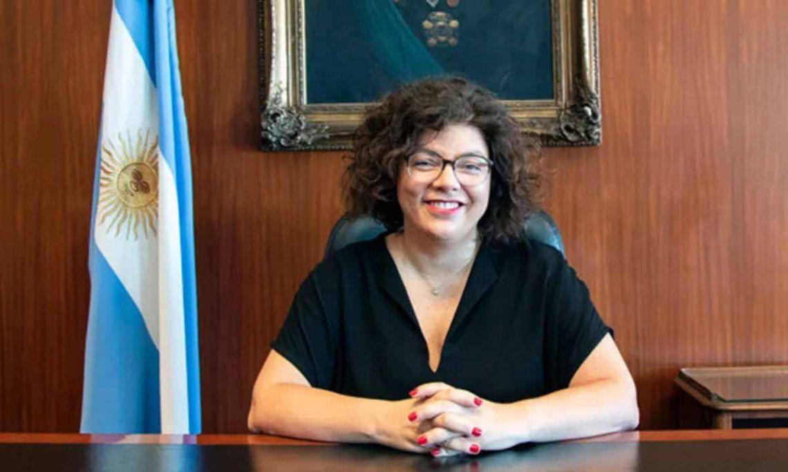 La flamante ministra de Salud Carla Vizzotti se refirió al plan de vacunación.