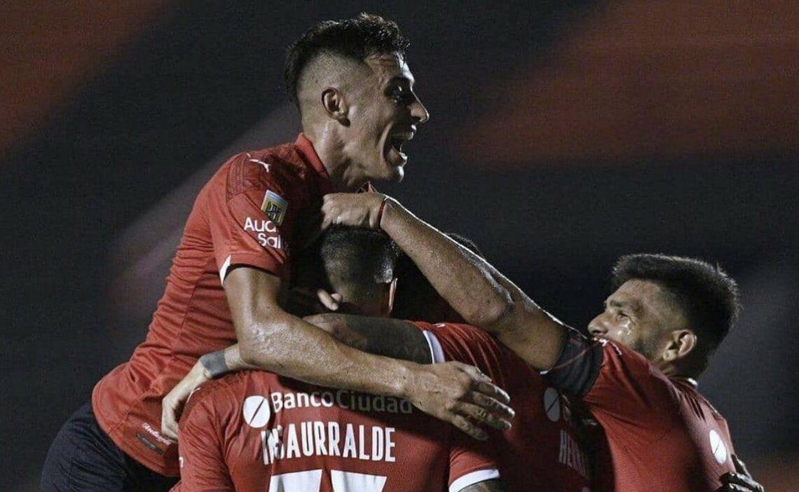 Independiente ganó su primer partido en la Copa de la Liga.