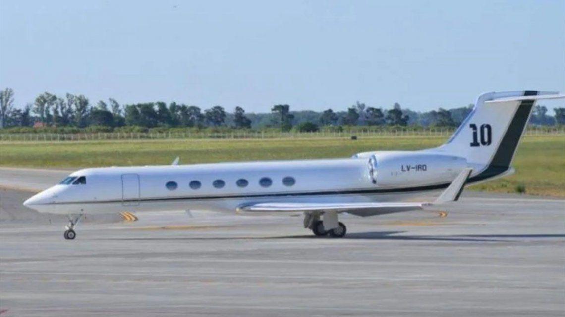 El avión de Messi se impulsa con motores Rolls Royce y alcanza una velocidad máxima de 940 kilómetros por hora