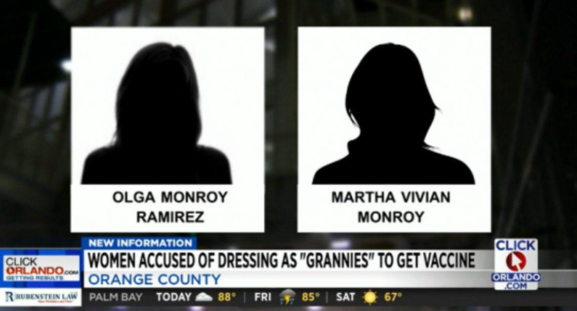 Medios locales filtraron que se trataba de dos mujeres
