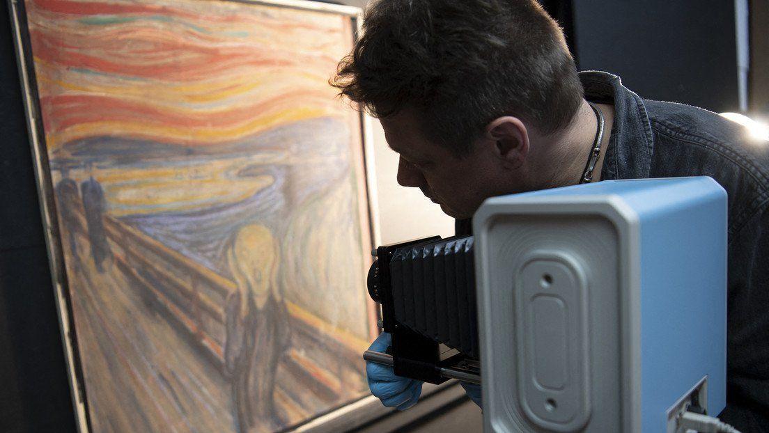 Descubren origen de la enigmática inscripción en El Grito de Edvard Munch