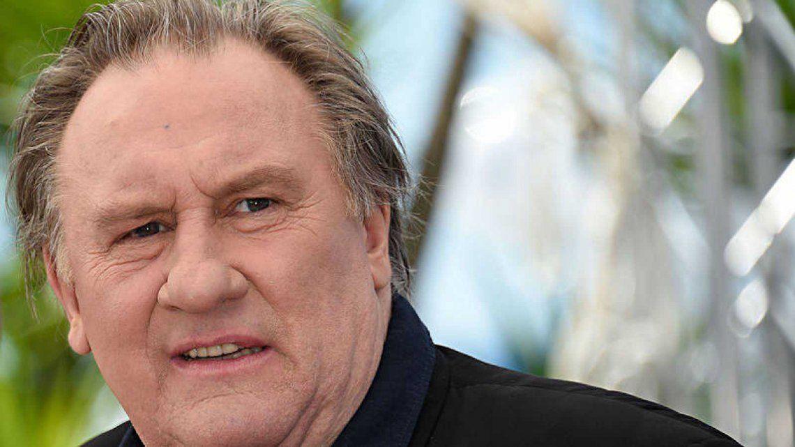 Reabrieron una causa por violación contra Gérard Depardieu