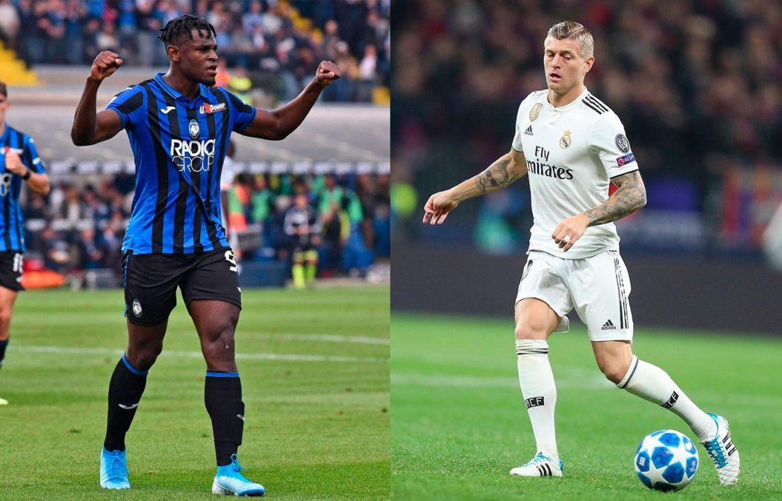 Real Madrid visita a Atalanta por la Champions League