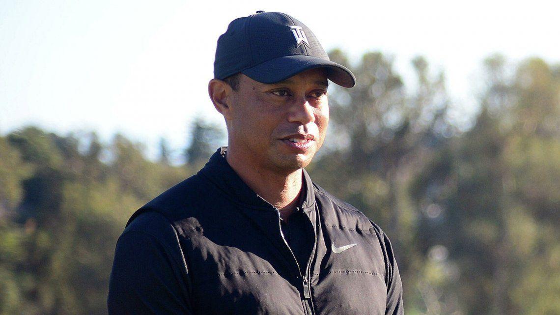 Tiger Woods se recupera luego de su grave accidente