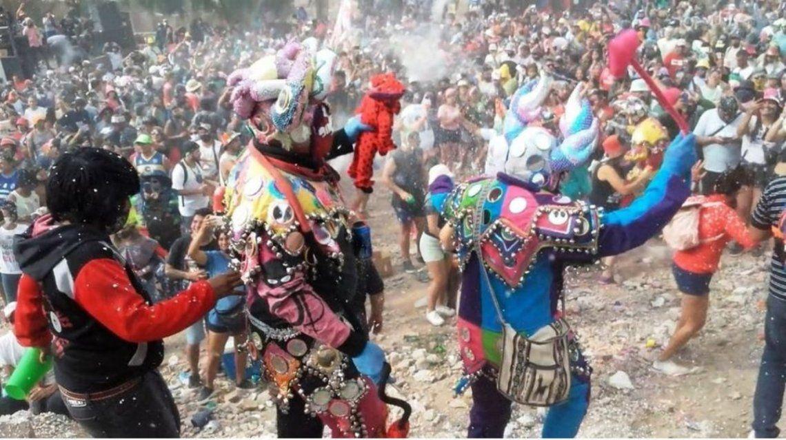 Se registraron grandes aglomeraciones en Tilcara y Humahuaca.
