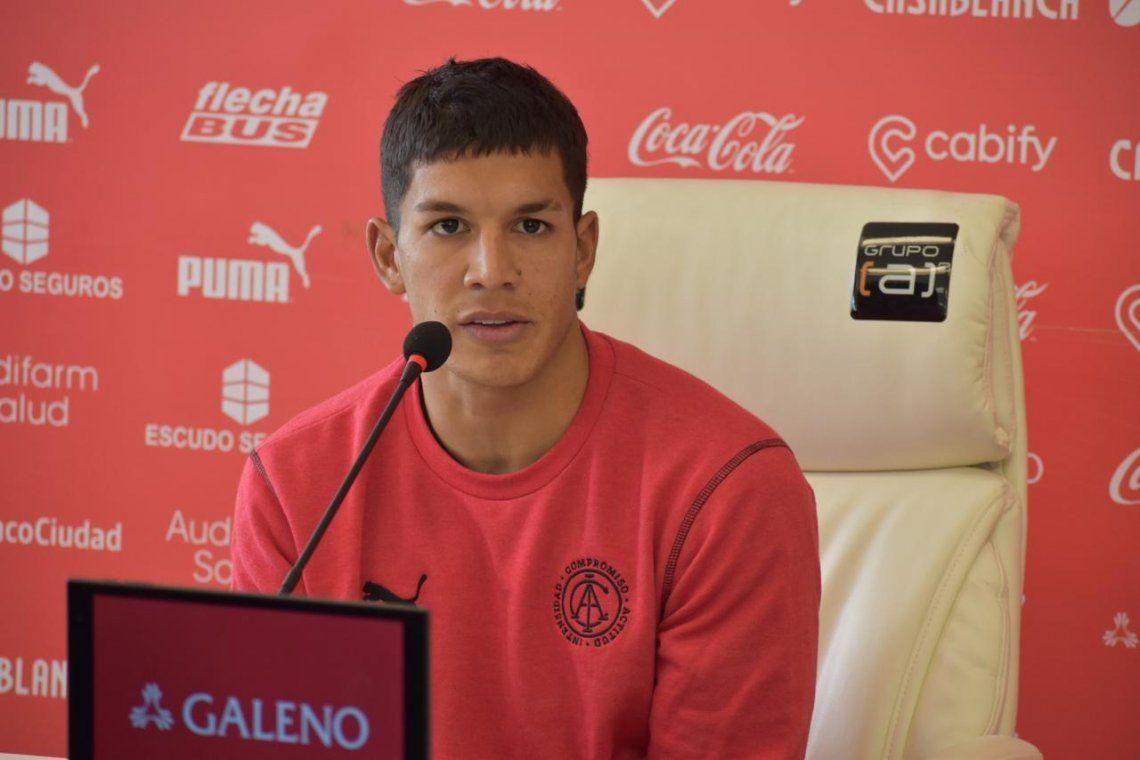 Lucas Romero podría volver a la titularidad en Independiente