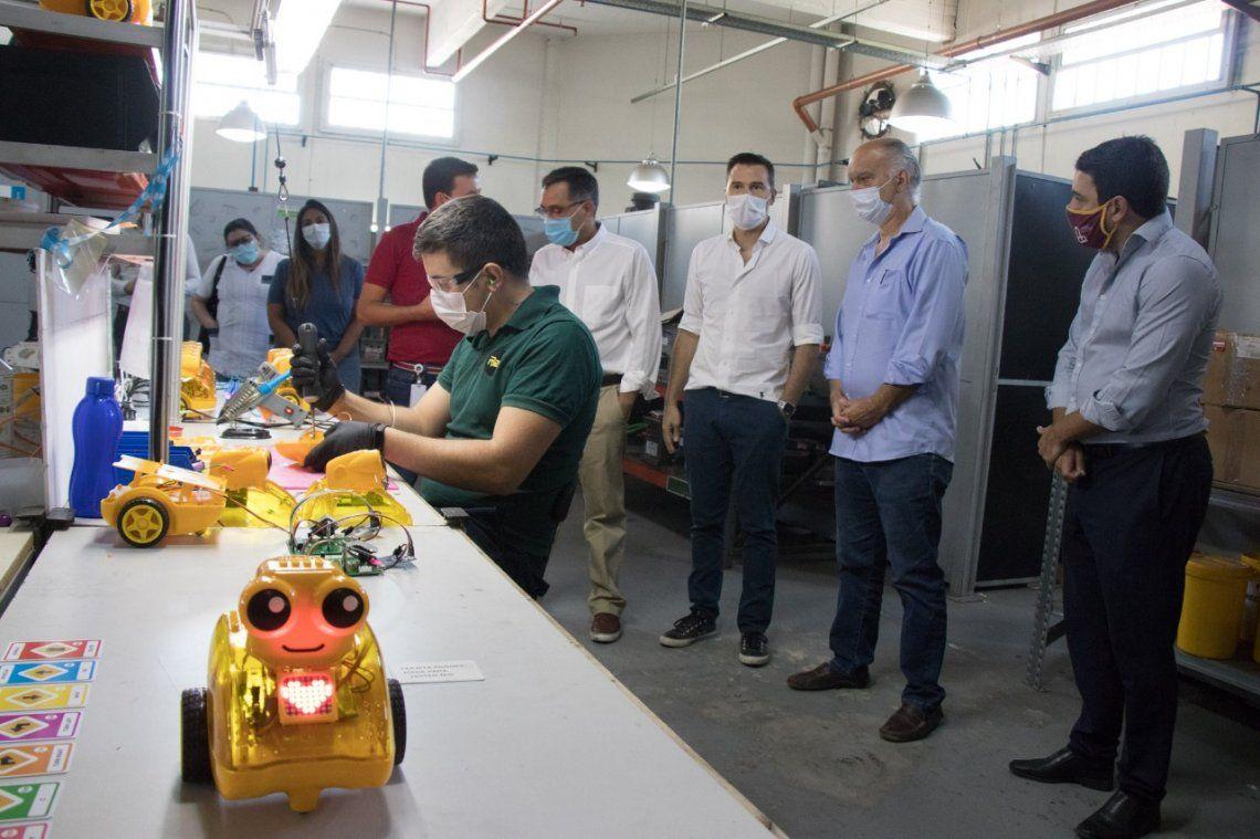 Lanús tendrá un programa de robótica educativa