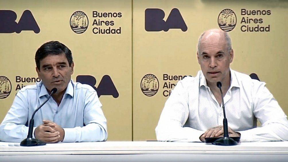Fernán Quirós y Horacio Rodríguez Larreta