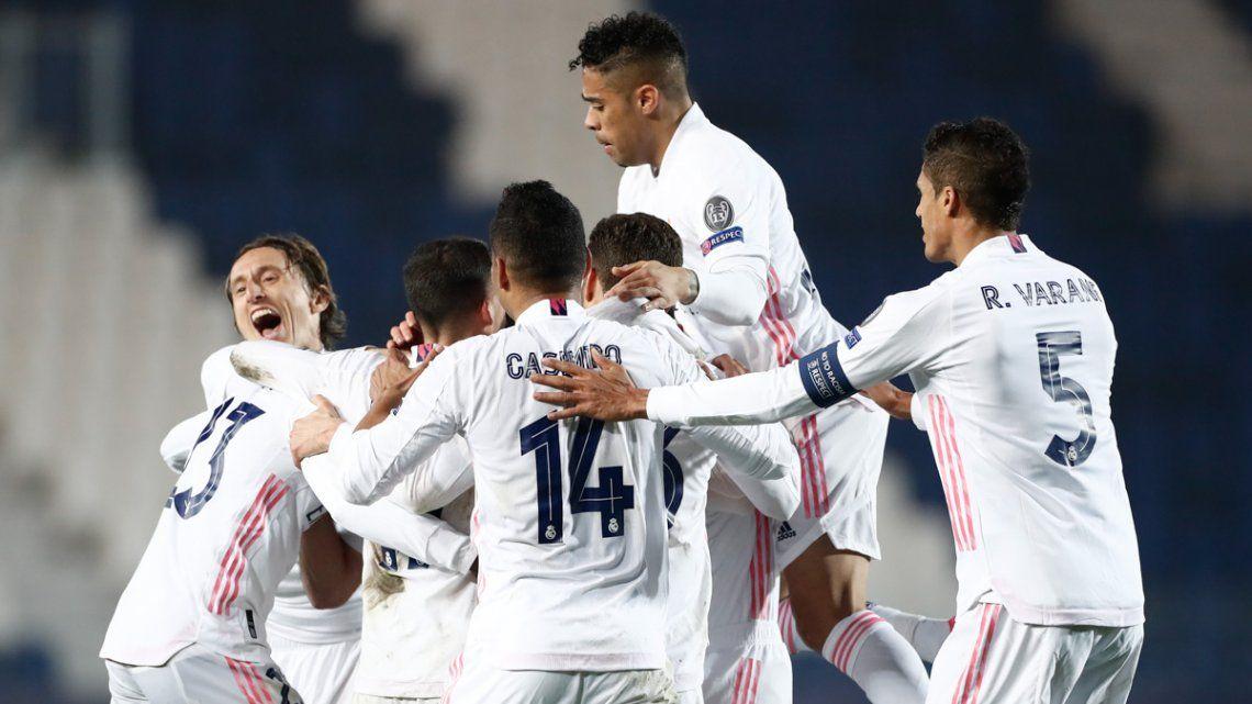 Real Madrid definirá la serie ante Atalanta el 16 de marzo en España.