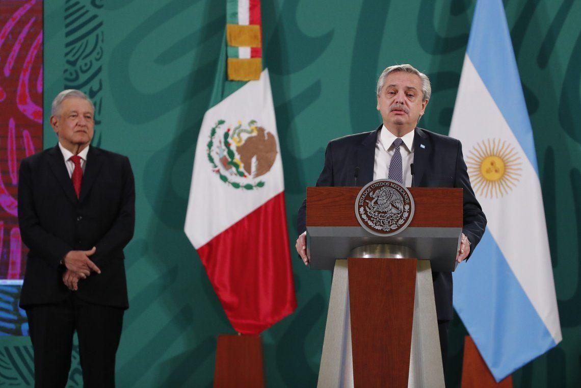 Alberto Fernández acordó con López Obrador