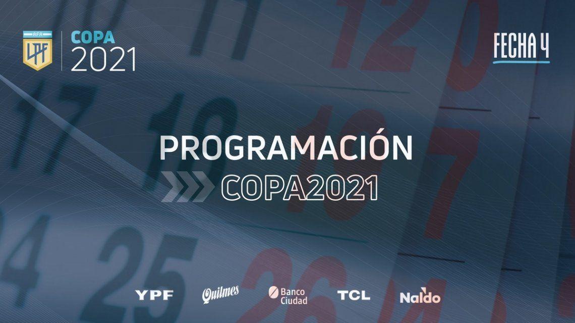 La Liga Profesional programó la cuarta fecha.