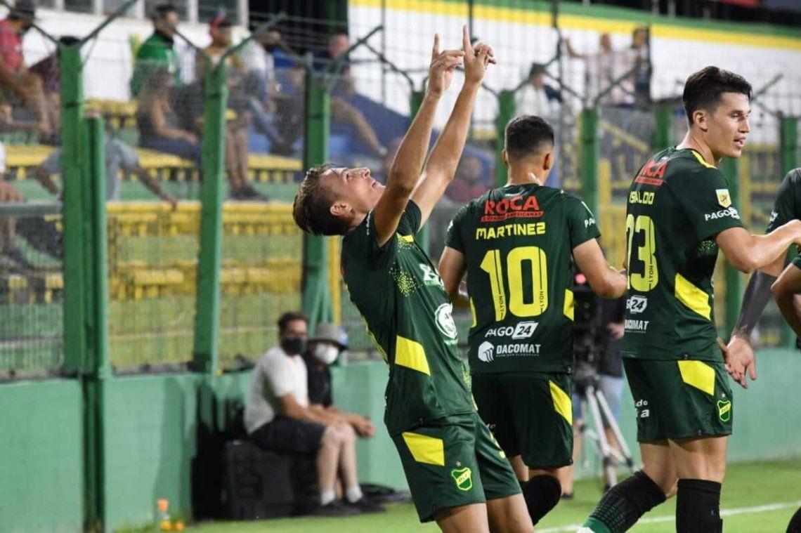 Braian Romero sacó chapa de goleador y le dio el triunfo al Halcón.