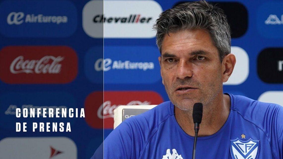 Mauricio Pellegrino palpitó el encuentro ante Boca.
