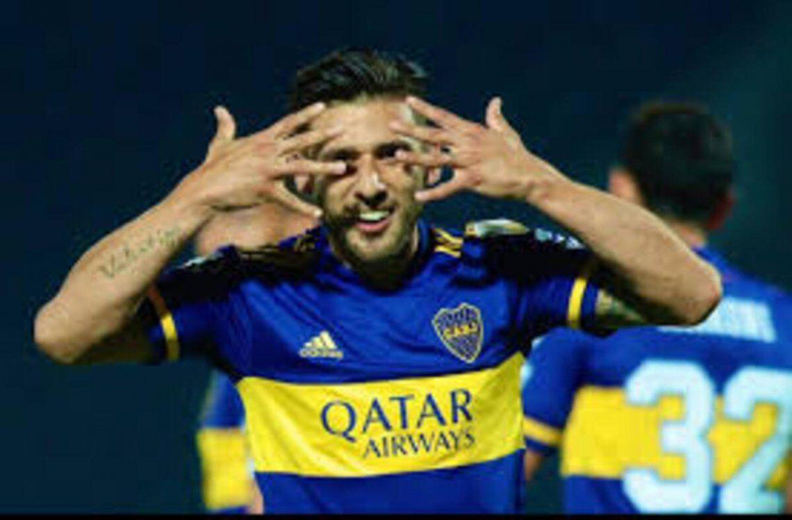 Eduardo Salvio sigue siendo titular en Boca