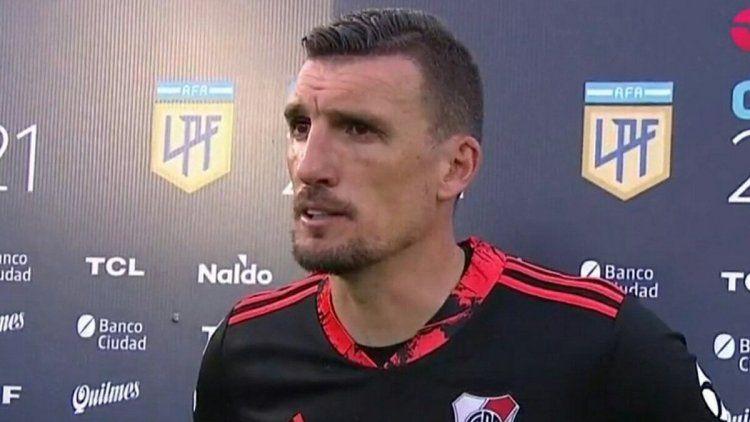 Franco Armani fue una de las figuras ante Platense.